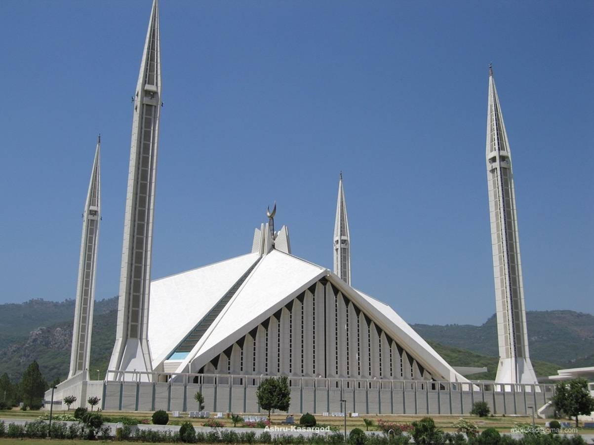 context best view of faisal masjid-faisal-masjid-jpg