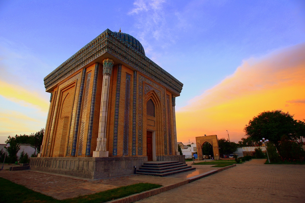Masjid Around The World-abu-mansur-mosque-samarkand-uzbekistan-jpg
