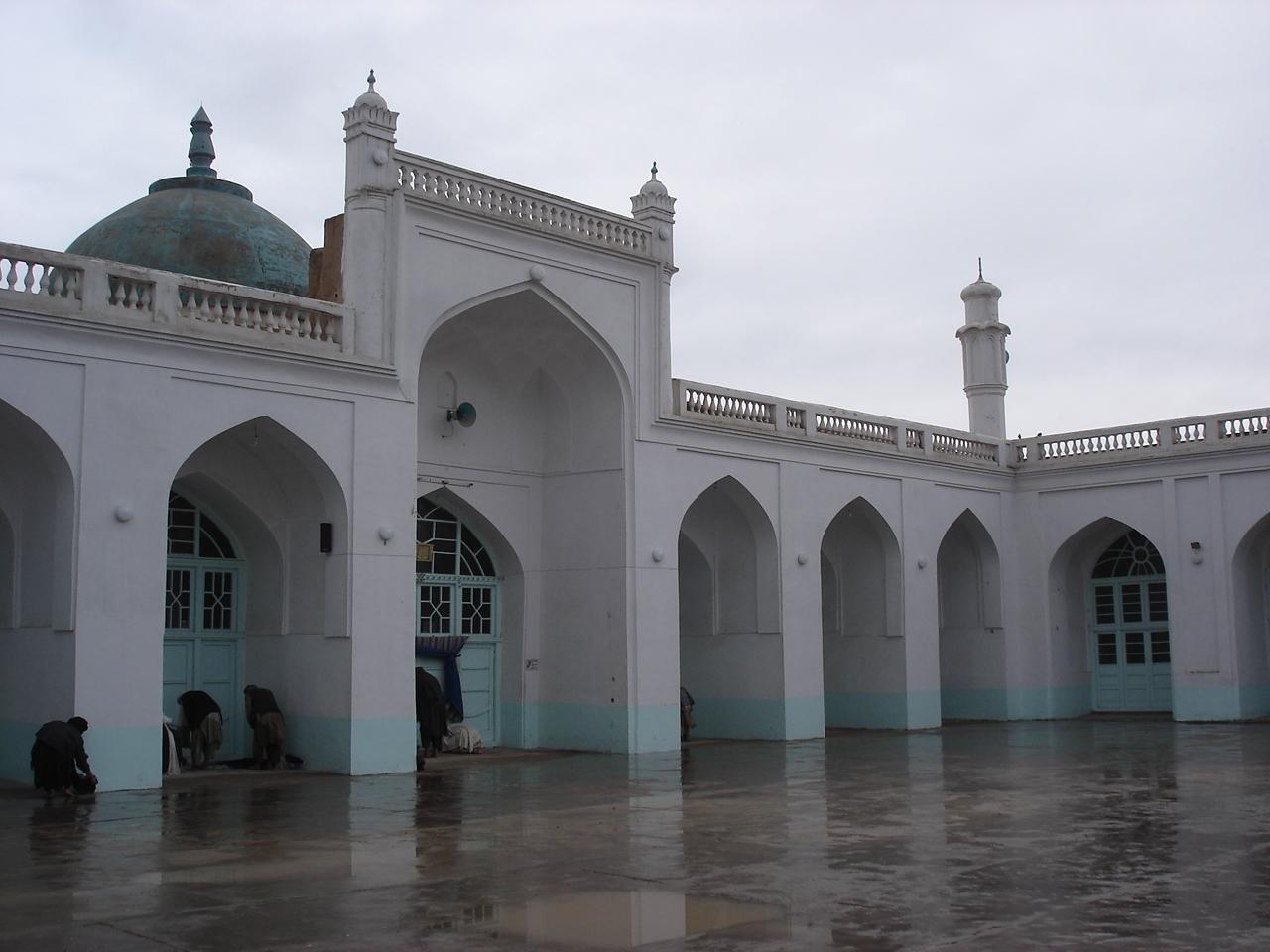 Masjid Around The World-ahmed-shah-baba-mosque-qandahar-afghanistan-jpg
