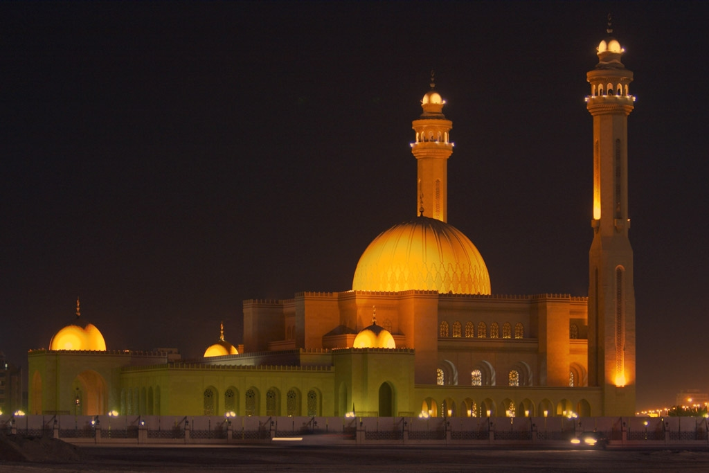 Masjid Around The World-al-fateh-mosque-manama-bahrain-night-jpg
