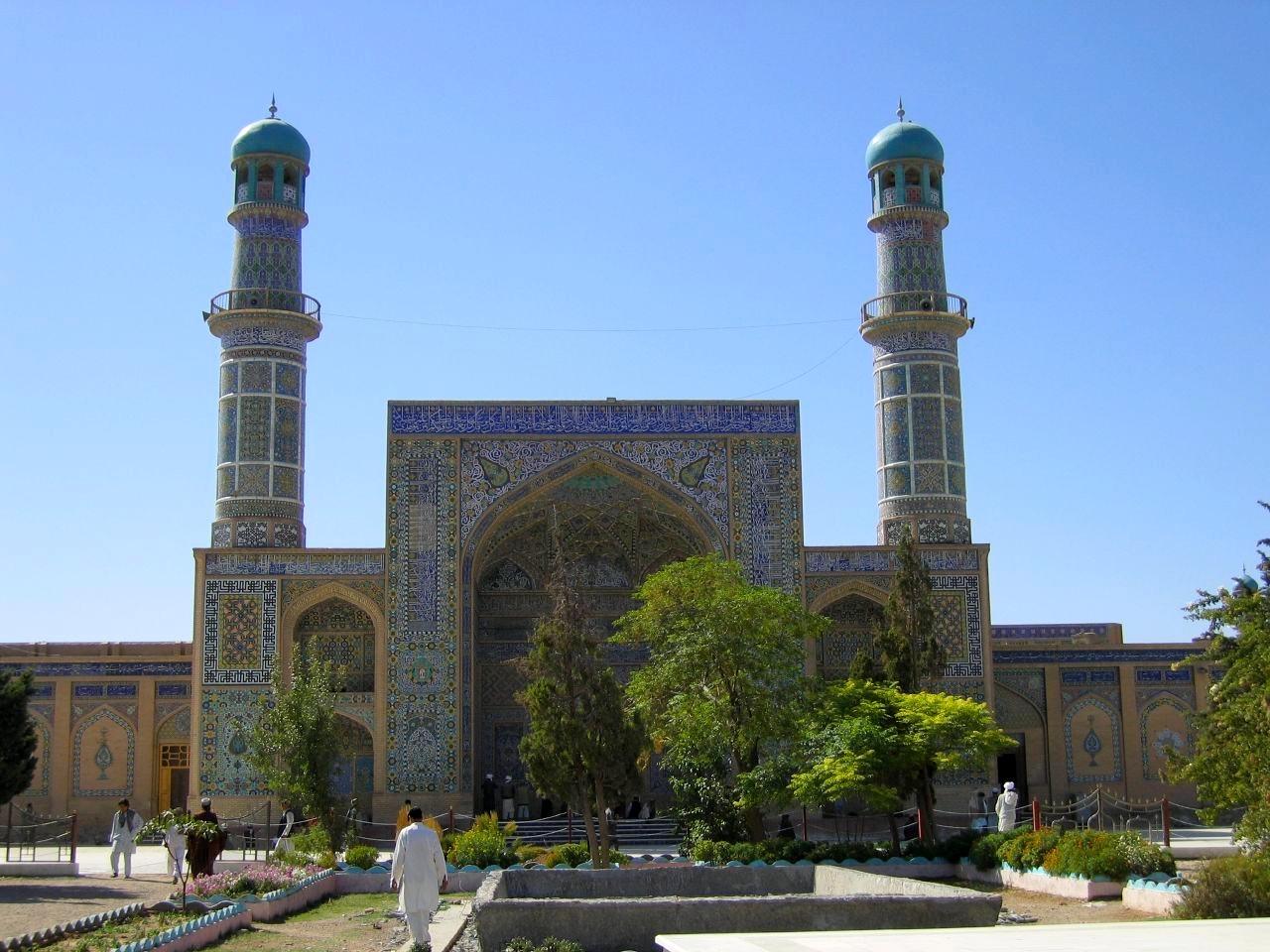 Masjid Around The World-blue-mosque-herat-afghanistan-jpg