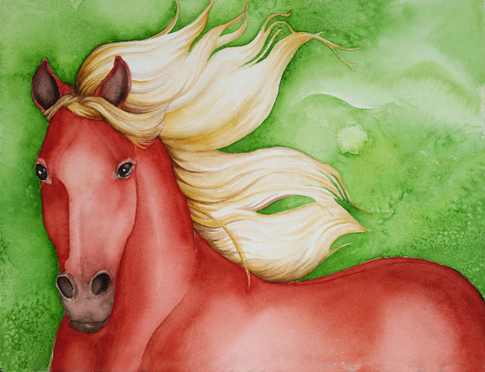 Lets Go for a Ride-red-horse-jpg