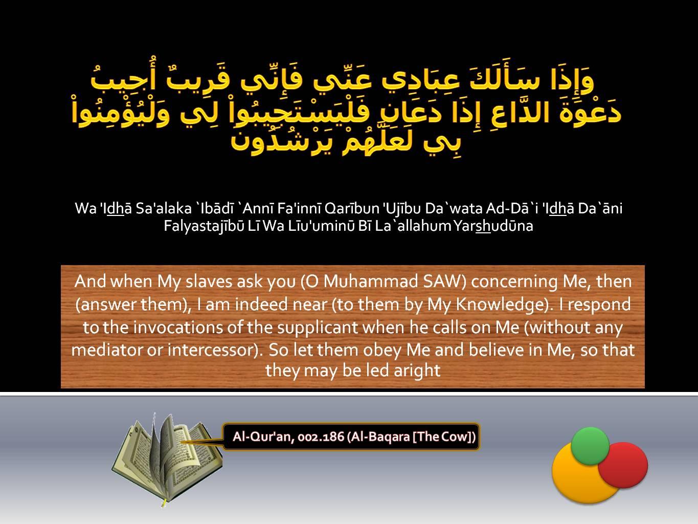 Islamic Quotes ! <<ISLAM—The Greatest Religion >>!-quran-002_186-jpg