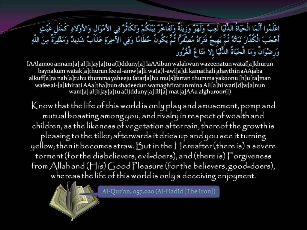 Islamic Quotes ! <<ISLAM—The Greatest Religion >>!-quran-057_020-jpg