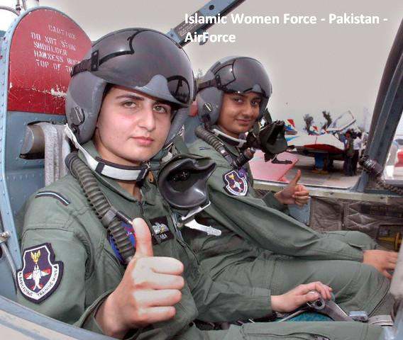 Islamic Women Forces-pakistan-femal-pilot-fighter-paf-jpg