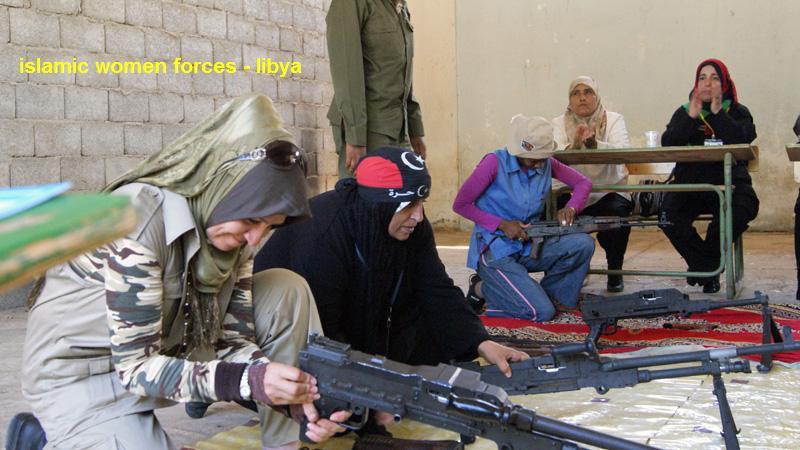 Islamic Women Forces-muslim_woman_force-libya-jpg
