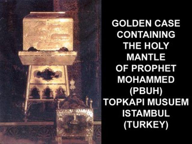 Mubarik Things of Our Peace Be Upon Him-golden-pbuh-jpg
