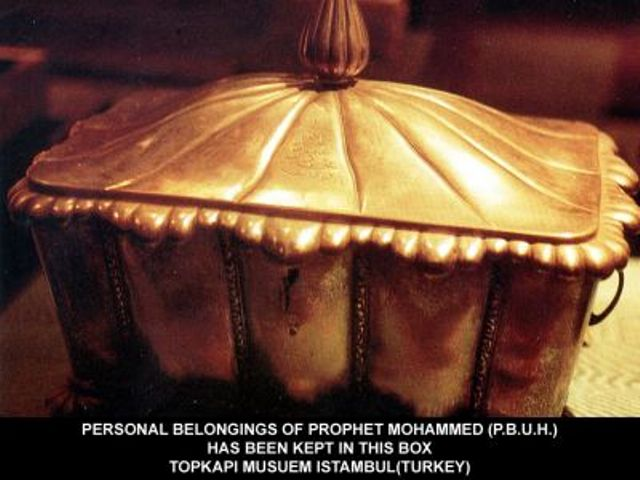 Mubarik Things of Our Peace Be Upon Him-personel-box-pbuh-jpg