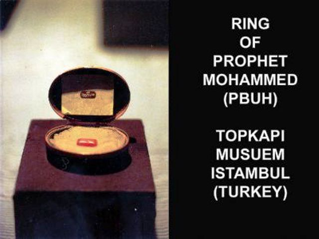 Mubarik Things of Our Peace Be Upon Him-ring-pbuh-jpg