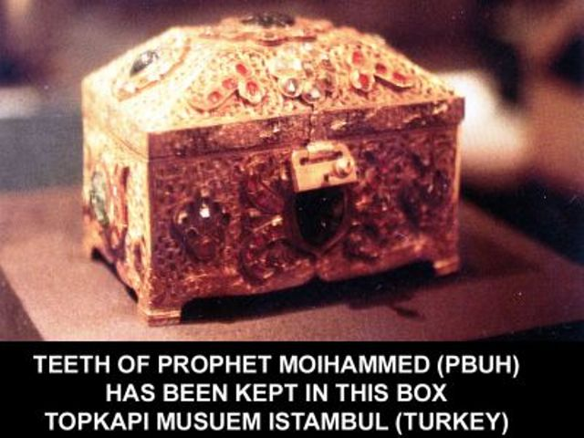 Mubarik Things of Our Peace Be Upon Him-teeth-pbuh-jpg