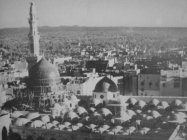 Islamic Pictures-greendome3-jpg
