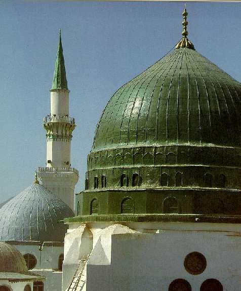 Islamic Pictures-gumbad-khizra1-jpg
