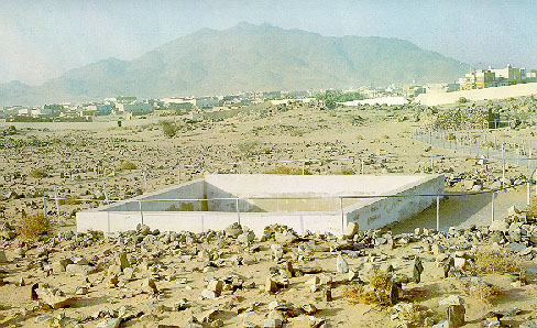 Madina Munawara-battle-field-badar-graves-shudas-visible-jpg