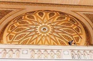 Madina Munawara-dome-inside-madina-jpg