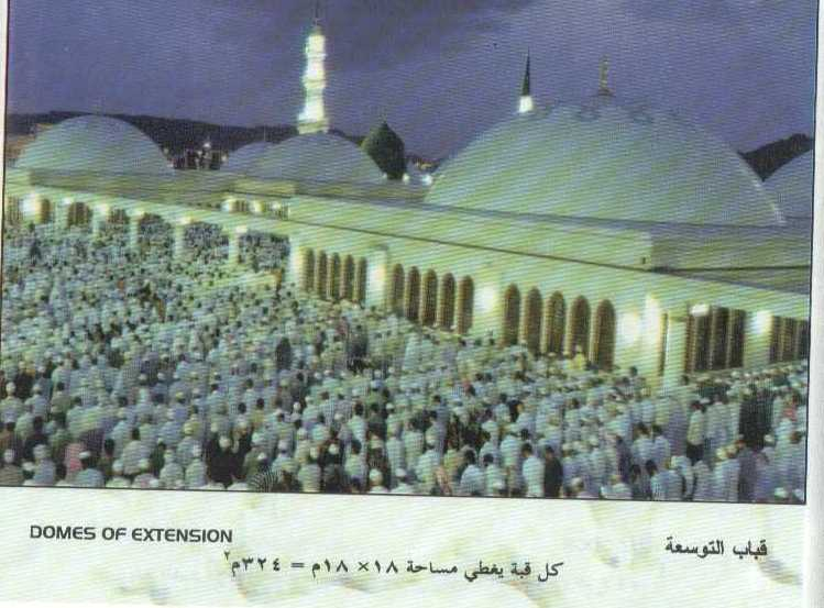 Madina Munawara-mosque-domes-jpg