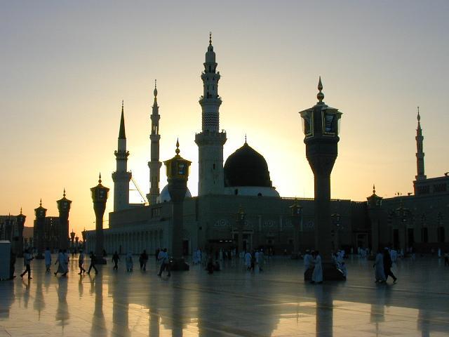Madina Munawara-sunset-madina-jpg