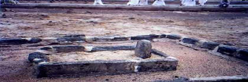 Madina Munawara - (Janat-ul-Baqee)-grave-hazrat-ibrahim-son-prophet-jpg