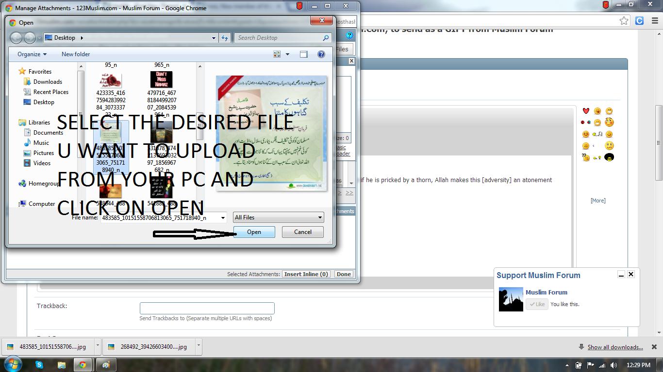 Method of posting image file-step-4-png